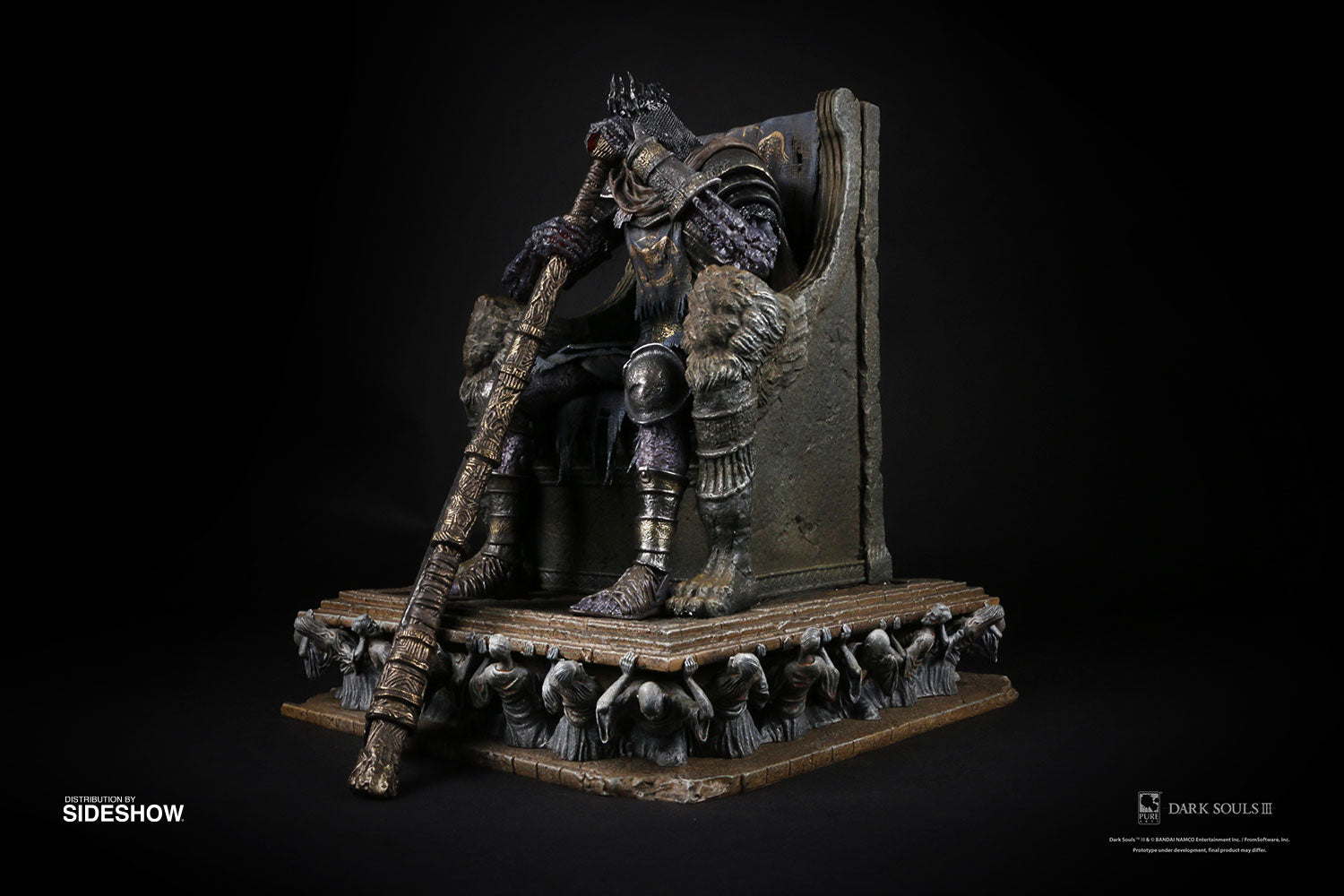 Yhorm The Giant On Throne (1:18 Scale)