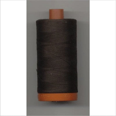 Aurifil 50 thread very dark bark (1130)
