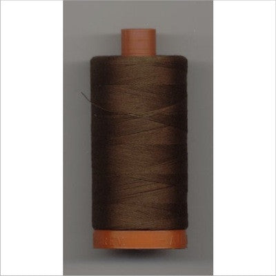 Aurifil 40 thread chocolate (2360)