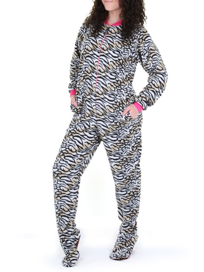 Footed pajamas for Men, Women and Children