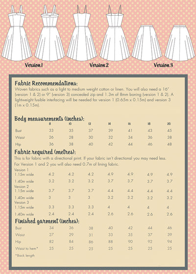 Rosie Dress Pattern