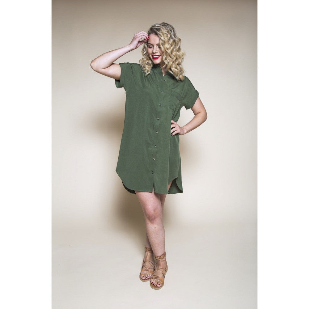 Kalle Shirt & Shirt Dress pattern