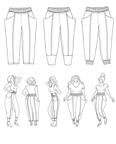 Arenite trousers pattern