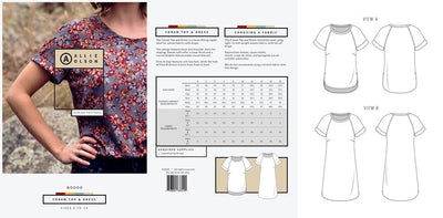 Coram Top and Dress pattern