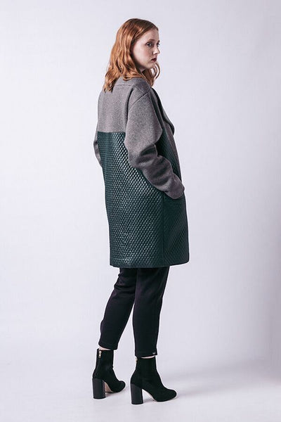 Gaia Quilted Coat pattern