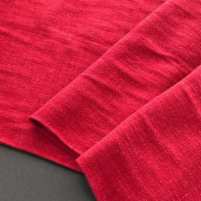 Bray Brick Red Viscose Linen
