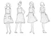 Reversible Metamorphic Dress pattern
