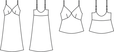 Mito Cami/Dress pattern