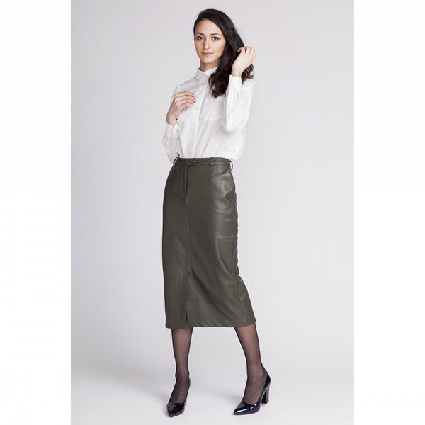 Polly straight skirt pattern