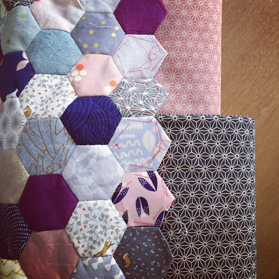 "3"" Hexagon Paper Pieces"