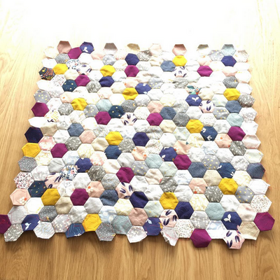 "4"" Hexagon Paper Pieces"