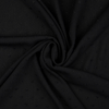 Lucerne Black Crinkle Swiss Dot Viscose