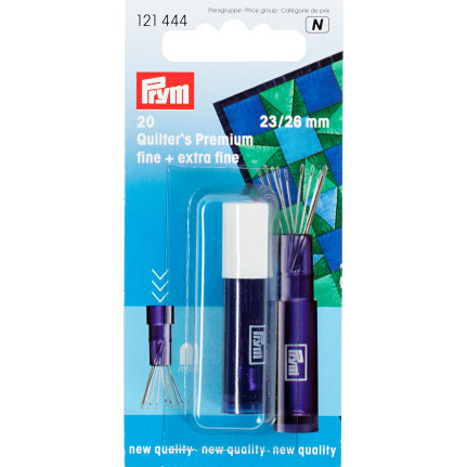 Prym Quilting Needles F+EF Assorted Sizes