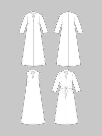 V-Neck Dress Pattern