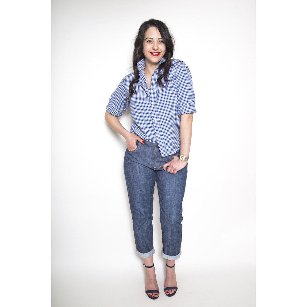 Morgan boyfriend jeans pattern