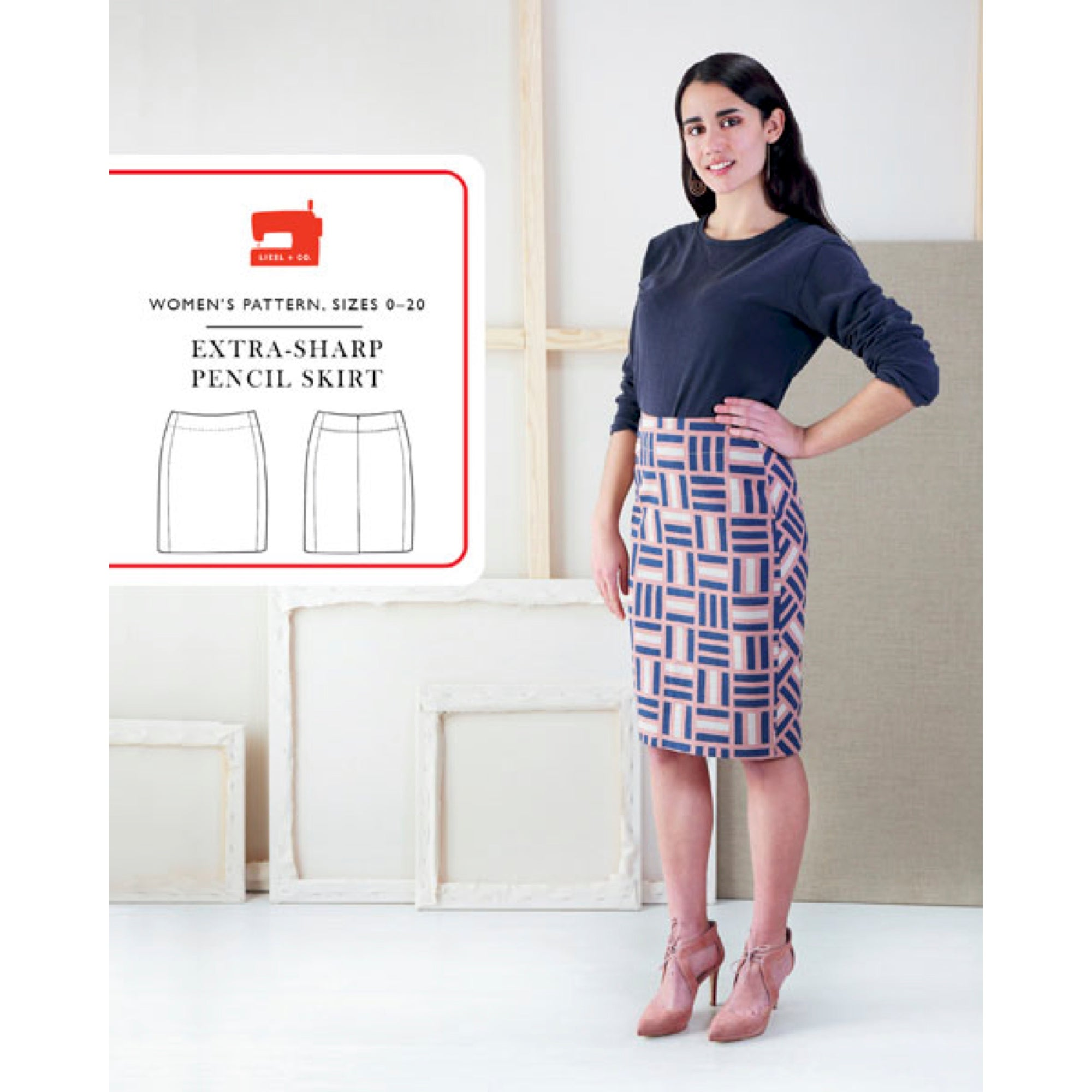Extra-sharp pencil skirt pattern
