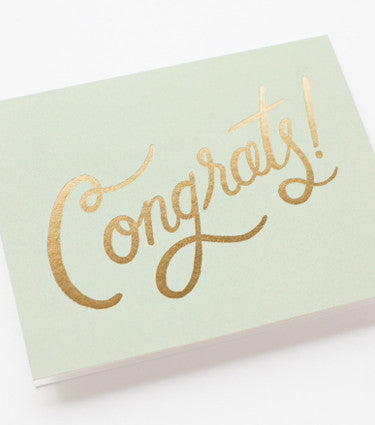 Timeless Congratulations Card