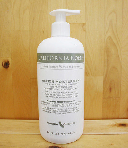 California North Action Moisturizer - 16oz