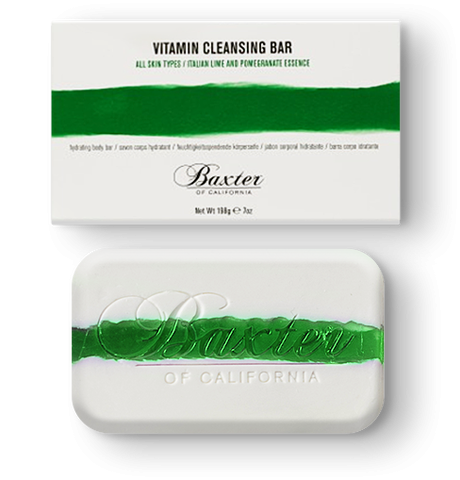 BAXTER of California VITAMIN E-D-A CLEANSING BARS:: ITALIAN LIME