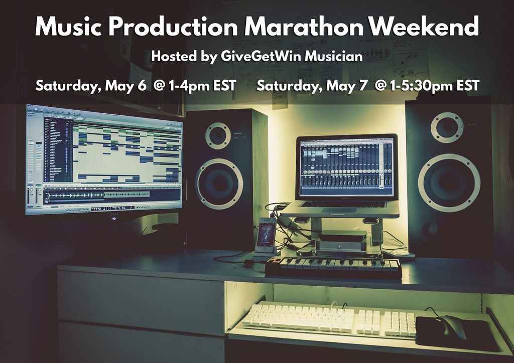 Music Production Marathon Weekend: See how much music you can make in a weekend