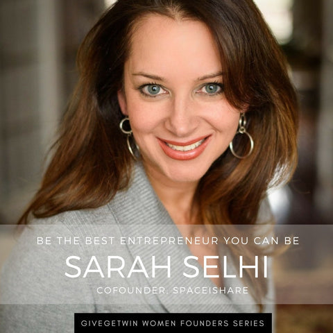 Want to Start a Business But Too Afraid to Try? This 1-on-1 Mentorship Package will Help You Break Free and Become the Best Entrepreneur You Can Be (with Sarah Selhi, Co-founder @ SpaceIShare)
