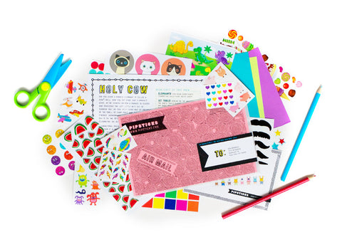 Stickers. We love them. Do you? Try Pipsticks, a Sticker Subscription!