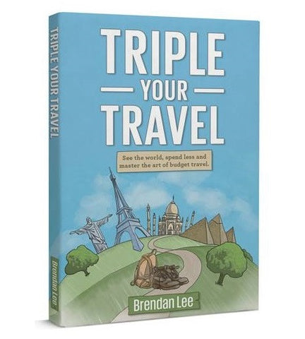 "See the World Without Spending a Fortune, Plan Your Next Adventure, and Become a Budget Travel Expert with ""Triple Your Travel""—50% Off For a Limited Time"