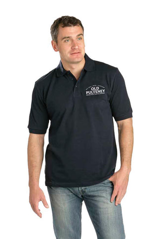 Mens Blue Polo Shirt