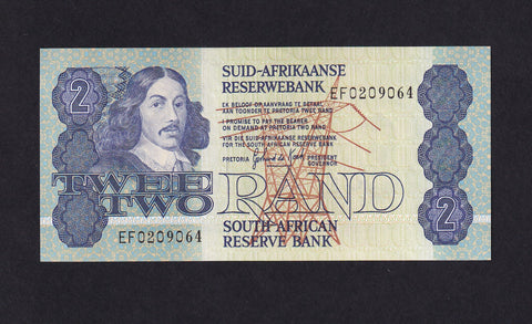 P118d SOUTH AFRICA 2 RAND DE KOCK UNC