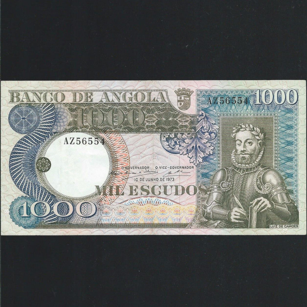 P.108 Angola 1000 Escudos (1973) Good VF - Colin Narbeth & Son Ltd. - 1
