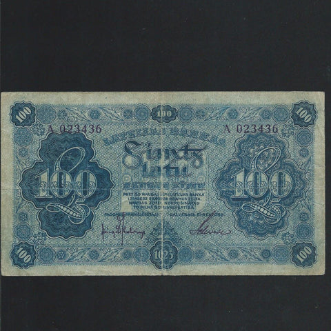 P.14 Latvia 100 Latu (1923) Fine - Colin Narbeth & Son Ltd.