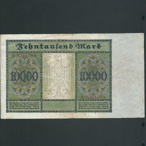 German Notgeld 20 Milliarde Mark (1923) Professor V. Rontgen, UNC
