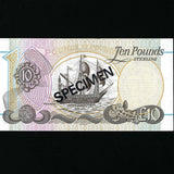 P.136s Northern Ireland £10 specimen (01.01.2012) First Trust Bank, J. Kitty signature, A/UNC