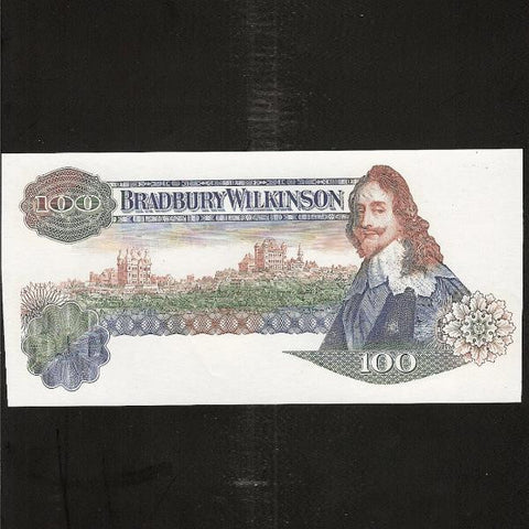 Bradbury Wilkinson promotional note. King Charles I, obverse stage proofs. UNC - Colin Narbeth & Son Ltd.