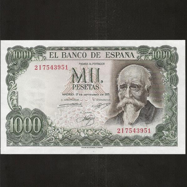 P.154 Spain 1000 Pesetas (1974) UNC - Colin Narbeth & Son Ltd.