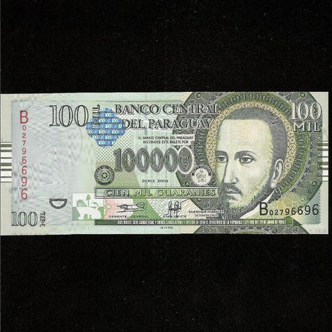 P.226 Paraguay 10000 Guaranies (2004) UNC - Colin Narbeth & Son Ltd.