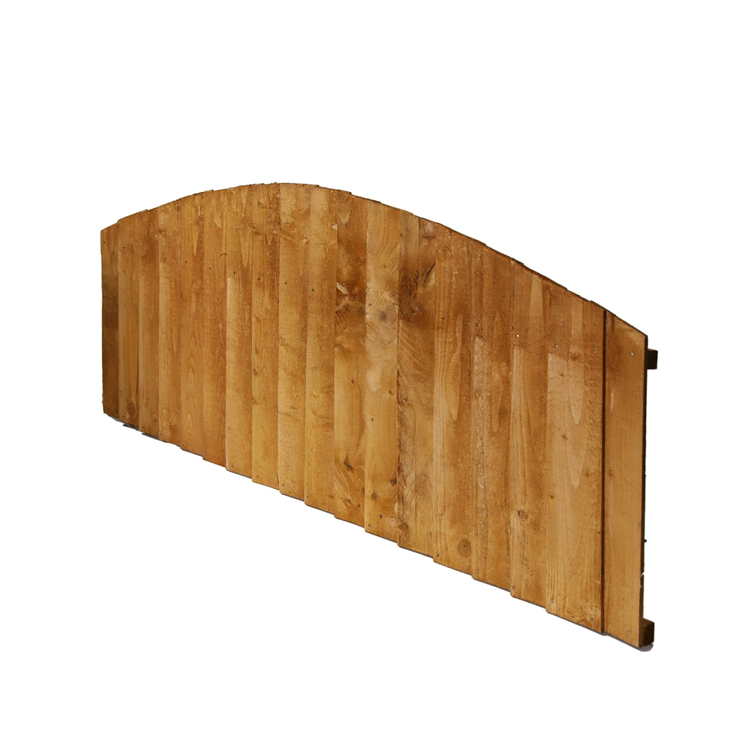 6' x 2' + Dome Featheredge Fence Panel