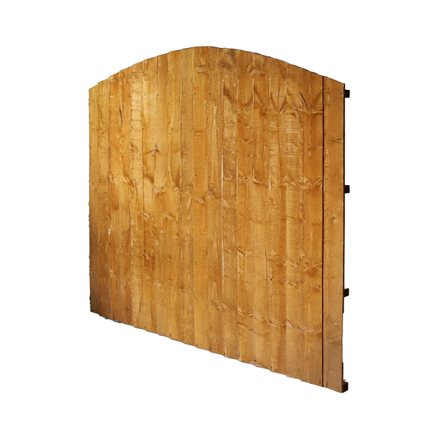6' x 5' + Dome Featheredge Fence Panel