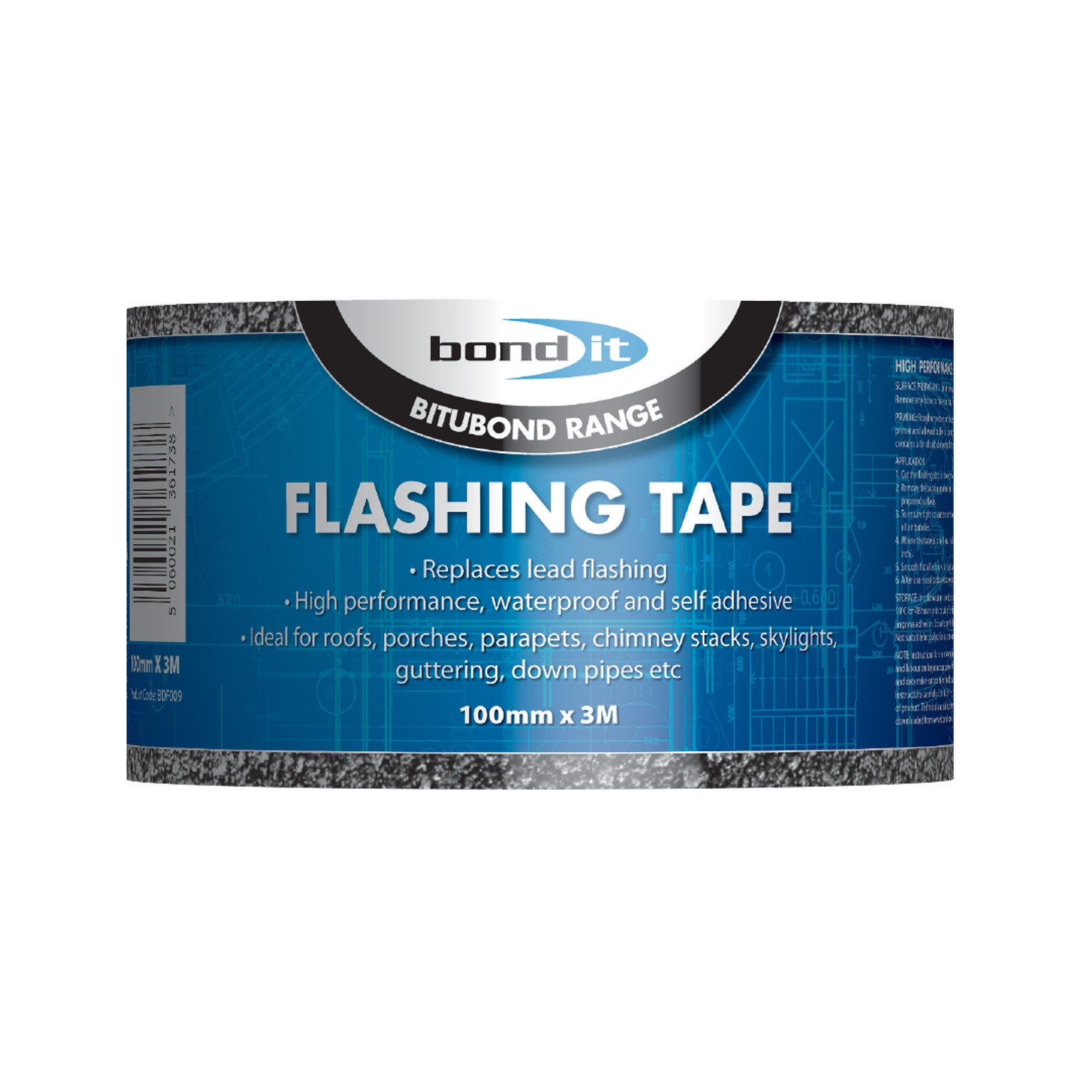 "Flashing Tape 4"" 100mm"