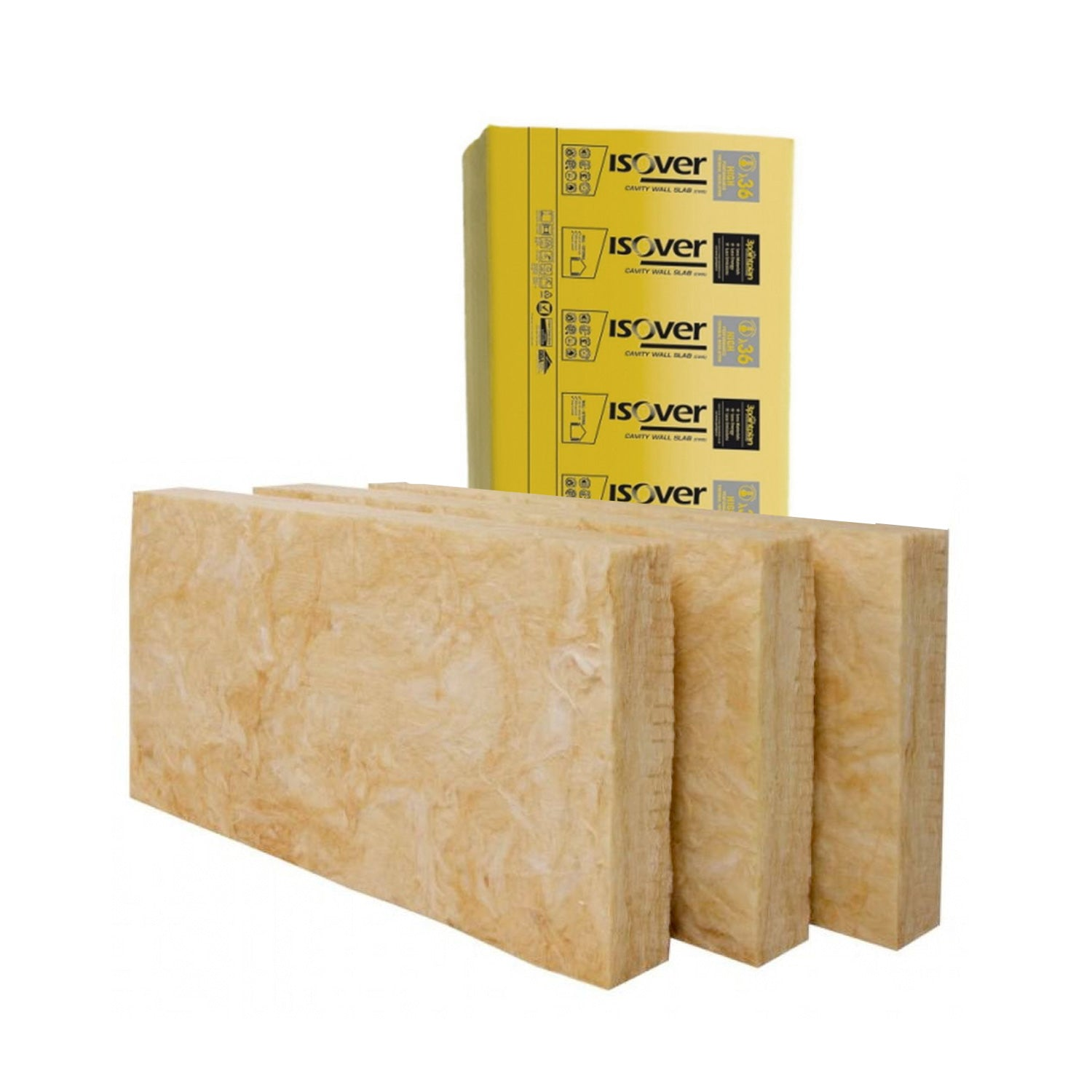 Isowool 100mm Cavity Slab 6.55 m2 Insulation
