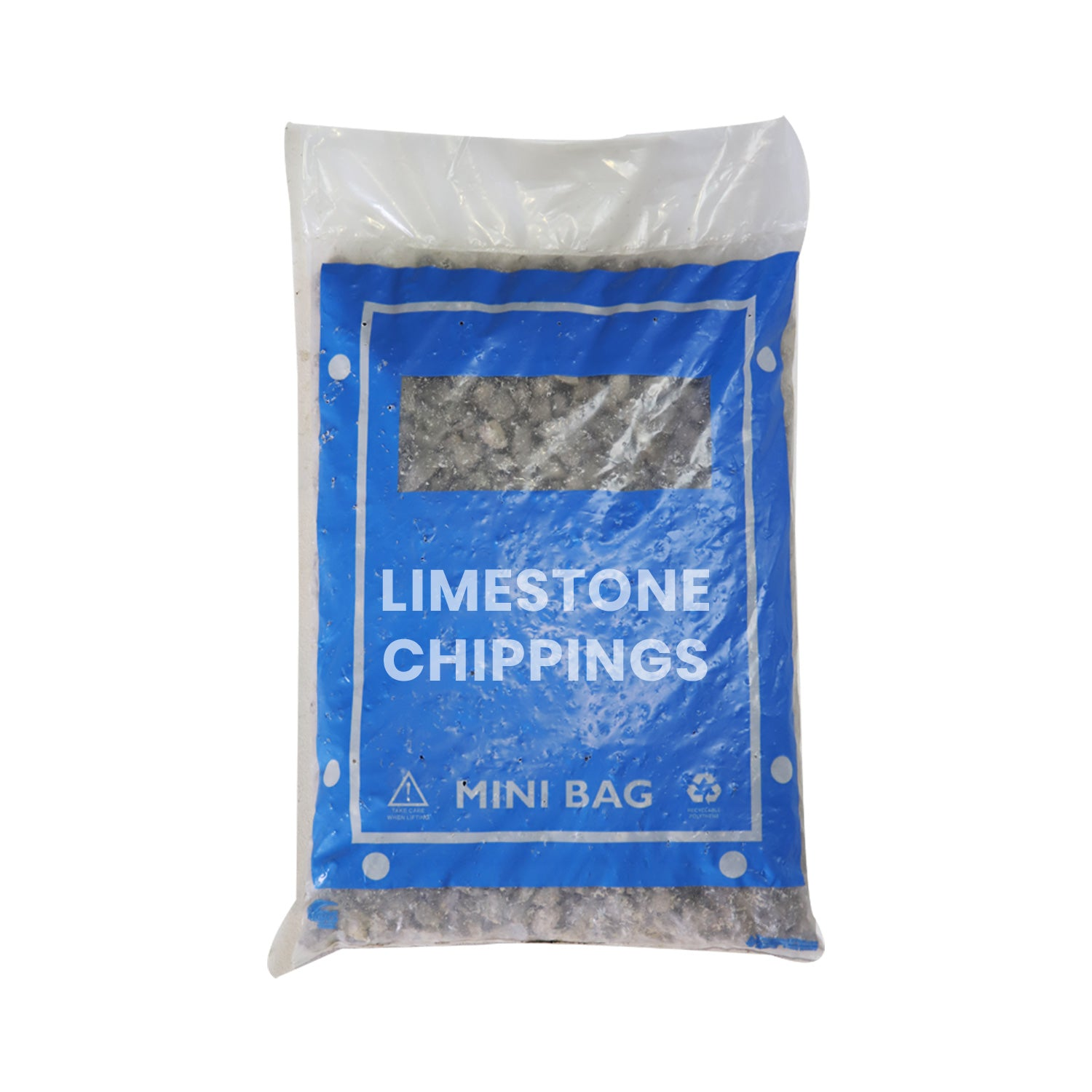 Limestone Chippings 6mm 25kg