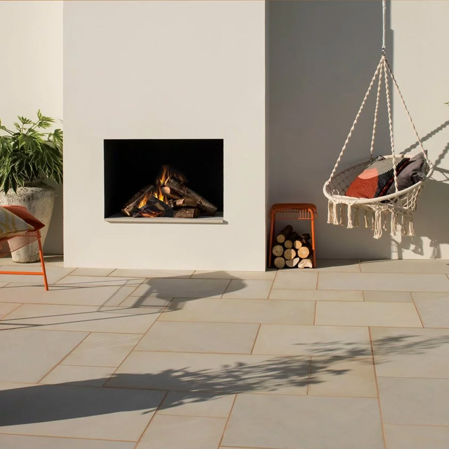 Natural Sandstone Fine Grained- Buff (15.3m2 Pack)
