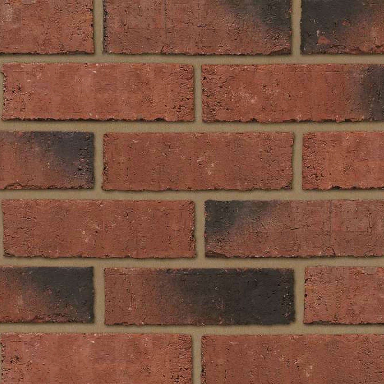Priory Weathered Red 65mm (400Pk)