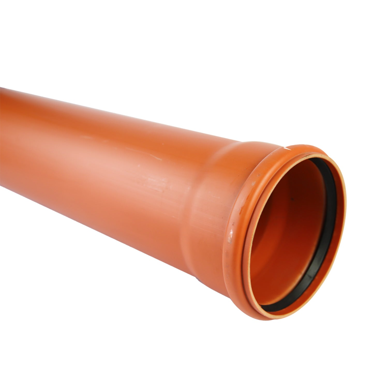 Single Socket Pipe 6m Underground 110mm
