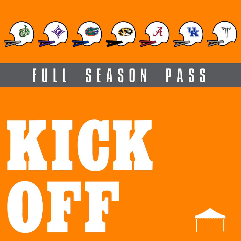Kick-off Tailgate Package - 2020 Season Pass