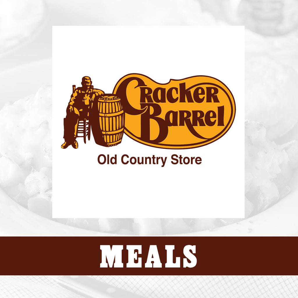 Cracker Barrel Full Tailgate Meals