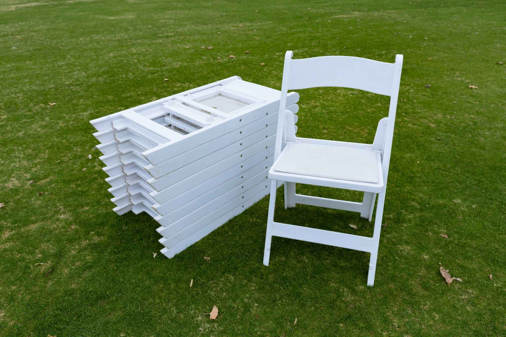Garden Chairs (set of 10)