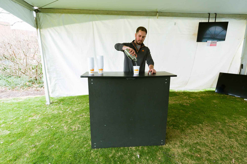 Bartending Service w/ Folding Bar