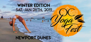 Catch Dr. Steven Schwartz at OC Yoga Festival at Newport Dunes Saturday January 26th!