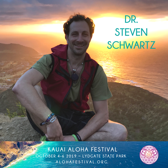 Don't miss Dr. Steven Schwartz at Kauai Aloha Festival October 4-6 2019!